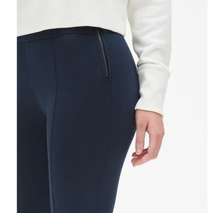 GAP Pants - NWT Gap Side Zip Ponte Leggings M Black v854